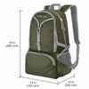 Wholesale Womens Travel Backpack Bags With Ripstop Waterproof Folding Lightweight