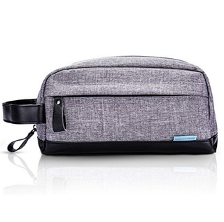 Men Portable Waterproof Toiletry Organizer Bag Cosmetic Shaving Dopp Kit For Travel