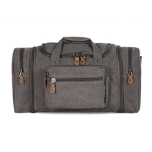 ddcd5226bb Durable Canvas Large Travel Duffel Gym Bag For Outdoor Sports