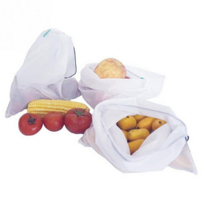 Eco Friendly Washable Grocery Net Bags For Fruit And Vegetable With Factory Price