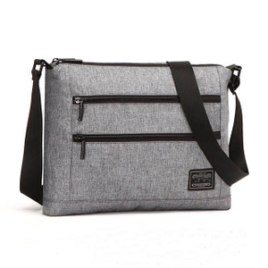 Custom Mens Messenger Shoulder Bag With Adjustable Shoulder Strap