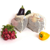 Reusable Organic Cotton Mesh Produce Storage Bags For Fruit And Vegetable Eco-Friendly