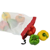 100% RPET Eco-Friendly Grocery Shopping Mesh Produce Bags For Fruits And Vegetables