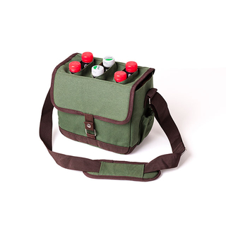 600d Polyester 6 Cans Beer Insulated Tote Bags