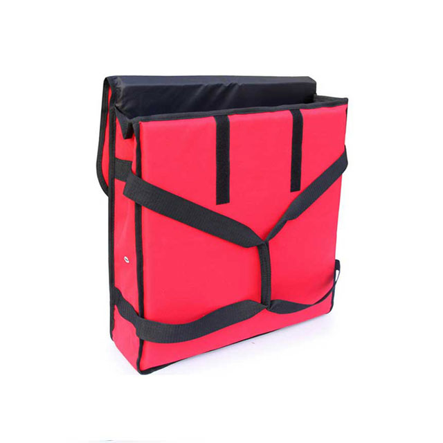 Foldable Insulated Pizza & Food Delivery Bags With Removable Shoulder Strap