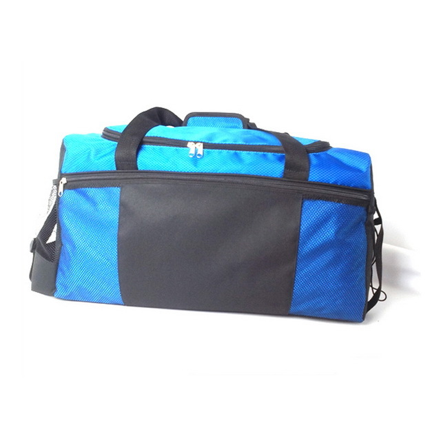 Custom Waterproof Hiking Travel Sports Gym Duffel Bag With Water Mesh Bottle Pocket