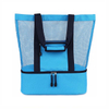 Waterproof Women's Mesh Beach Tote Bags With Insulated Cooler Material