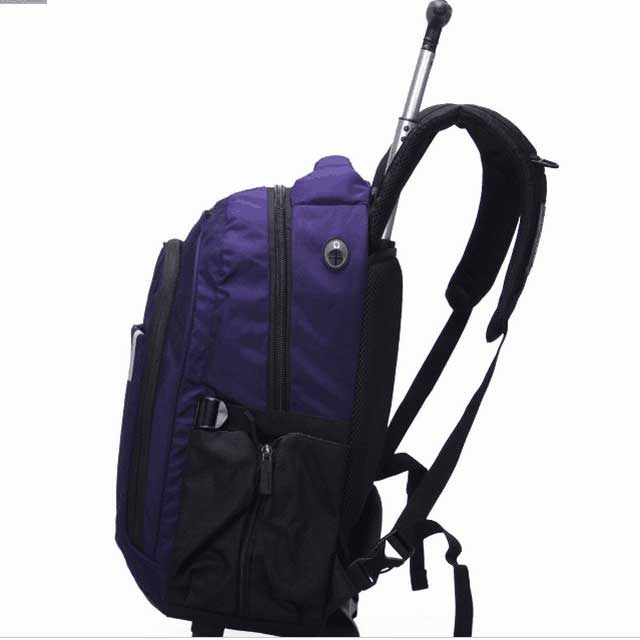 Durable Laptop Wheeled Rolling Trolley Bags For School With ODM Service