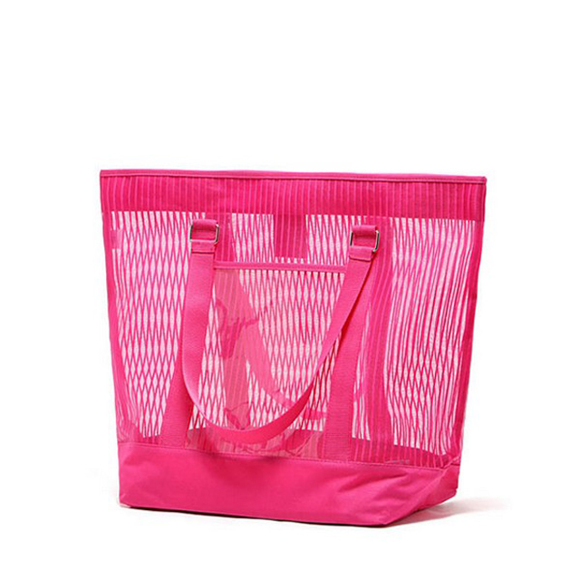 Reusable Mesh Beach Bags And Totes For Ladies And Women