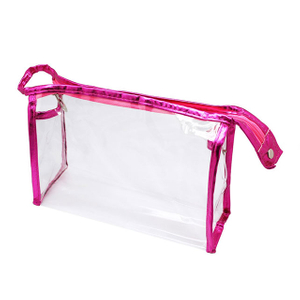 Waterproof Transparent PVC Cosmetic Bags For Girls & Women