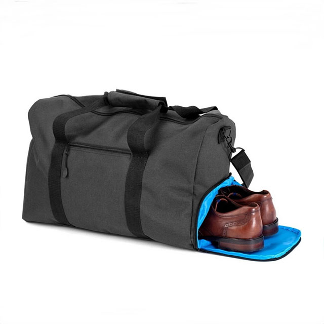 Mens Business Weekend Travel Duffle Bag With Shoe Compartment